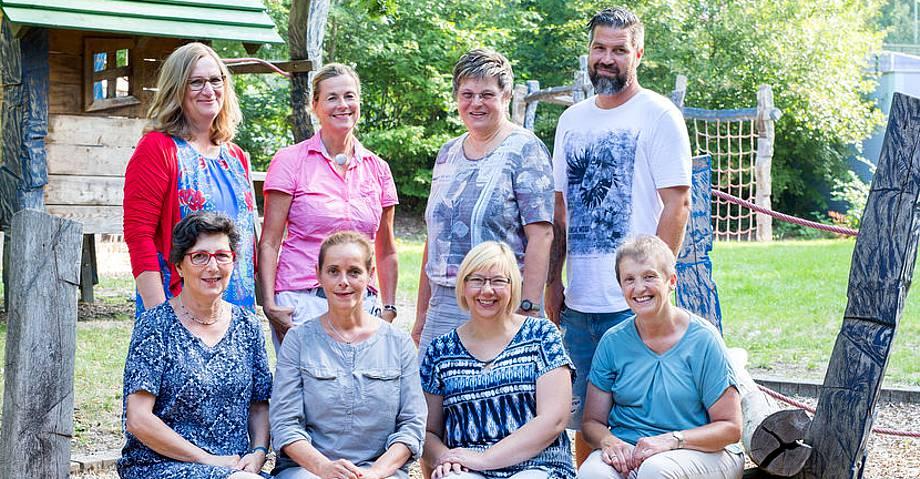 Ihr Team des Familienzentrums Langenberg Nord
